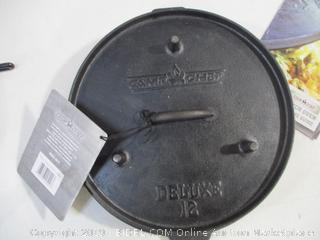 Camp Chef - Deluxe 12 Dutch Oven - Lid (Griddle) and Lifting Handle Only