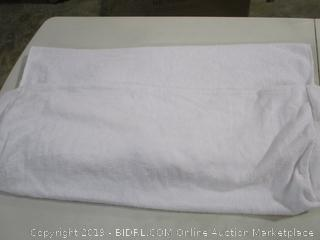 White Terry Cloth Pool/Lounge Chair Cover