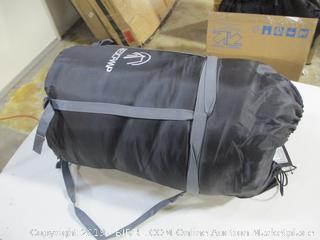 Redcamp - Hooded 41f Sleeping Bag (Navy Blue/Flannel)