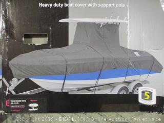 Classic Accessories- StormPro- Heavy Duty T Top Boat Cover (Fits 20-22 ft)