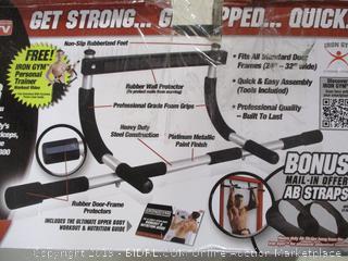 Iron Gym - Total Upper Body Workout Bar