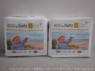 Eco by Naty Premium Disposable Diapers for Sensitive Skin