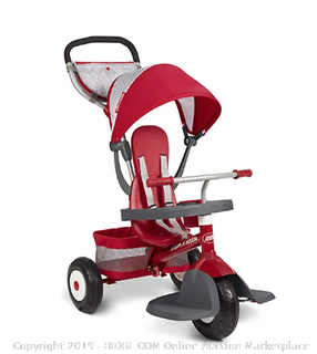 489z Radio Flyer Ultimate Terrain Trike Stroller Tricycle
