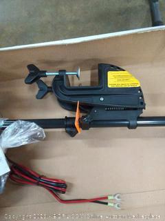 "Minn Kota Endura Transom Mount Trolling Motor 45 36"" shaft (Online $195)"