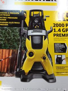 Karcher K5 Premium Electric Power Pressure Washer, 2000 PSI, 1.4