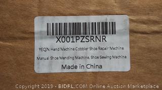 hand machine cobbler shoe repair machine