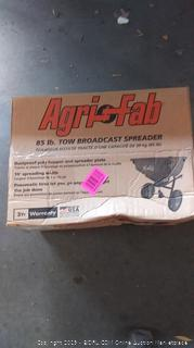 85lb.  Tow Broadcast Spreader