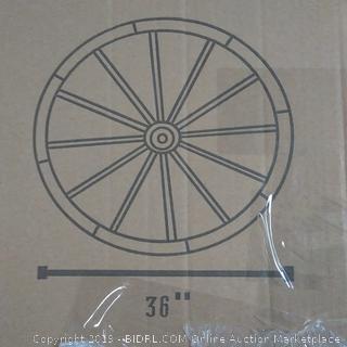 "Wagon Wheel 36"" with hub"
