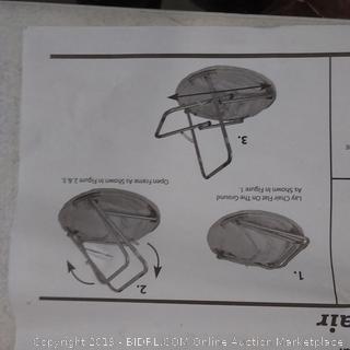 green Saucer Chair