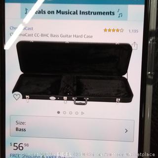 chromacast CC-BHC Bass Guitar Hard Case (Damaged)