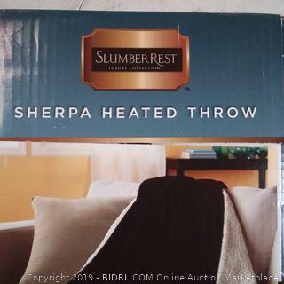 Sherpa Heater Throw