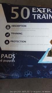 Dog Extra Largem Training Pads minor damage
