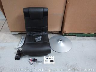 Ace Bayou X Rocker 5127401 Pedestal Video Gaming Chair, Wireless, Black (online $148)