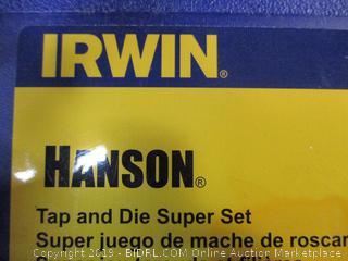 Irwin - Hanson 75-piece Tap and Die Super Set (#4-1/2in)
