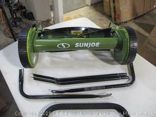Sunjoe - 16in Manual Reel Mower w/Collection Catcher