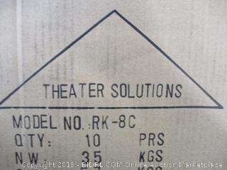 Theater Solutions - RK-8C In-Ceiling 8in Speaker Rough-in Kit, case of 10
