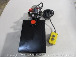 12V Double Acting Hydraulic Pump w/Reservoir