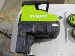 Sunjoe - CJ603E 15A Electric Silent Wood Chipper/Shredder (powers on, no collection bag)