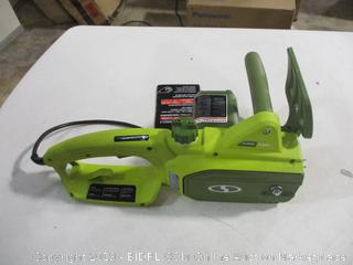 Sunjoe - SWJ599E (14-in, 9A) Electric Chainsaw (powers on)