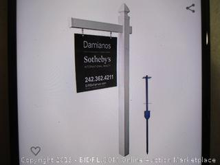 4Ever - Vinyl PVC Realtor Sign Post - Tall