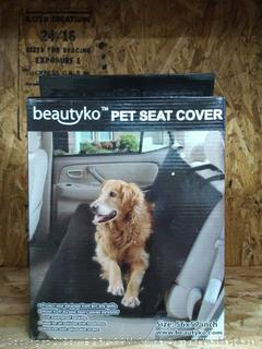 beautyko pet seat cover
