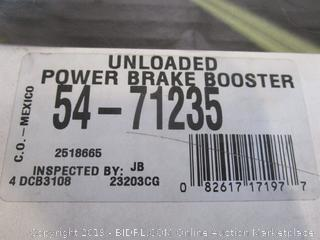 Unloaded Power Brake Booster