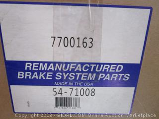 Remanufactured Brake System Parts