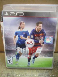PS3 FIFA  16