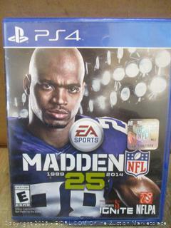 PS4 Madden