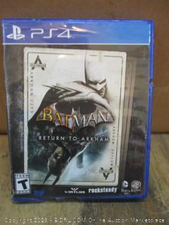 PS4 Batman
