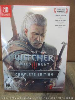 Nintendo Switch the Witcher Wild Hunt