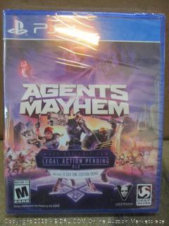 PS4 Agents Mayhem