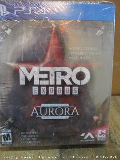 PS4 Metro Exodus Aurora