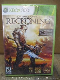 XBOX  Reckoning