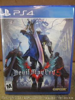 PS4 devil MayCry 5