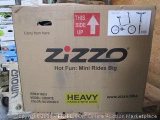 Zizzo Liberte Folding Bike (retail $479)