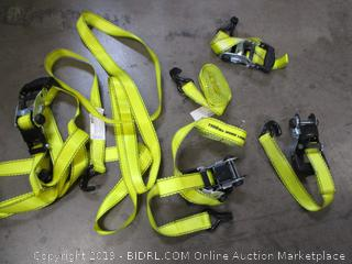 Tiedown Vehicle Straps