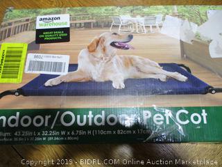 Indoor/Outdoor Pet Cot