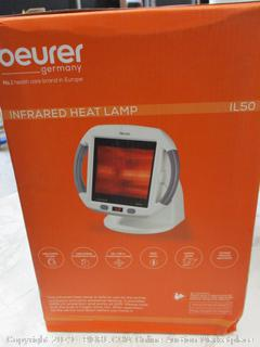 Beurer Infrared Light Heat Lamp Red Light Therapy