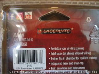 9MM Laser Trainer Cartridge Laserlyte