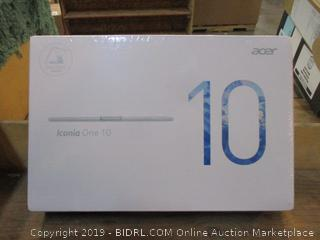 Acer Iconia One 10 Factory Sealed