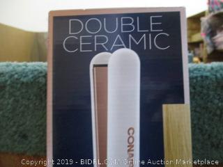 Conair Double Ceramic 1 i Flat Iron