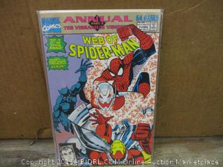 Marvel Comics Annual Part 3 Web of Spider-man