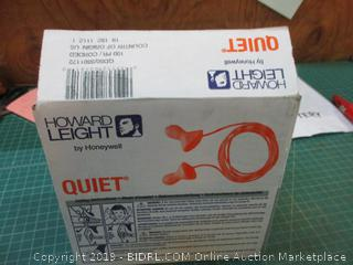 Howard Leight Reusable Foam Earplugs Factory Sealed