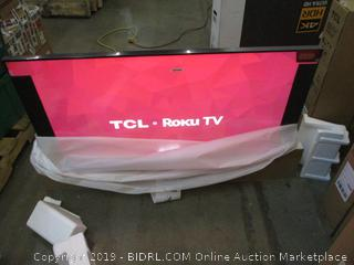 "TCL Roku TV 55"" Powers on See Pictures"