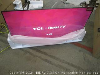 "TCL Roku TV 50"" Powers on See Pictures"