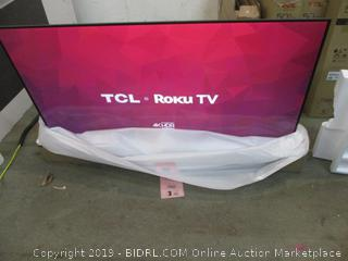 "TCL roku TV 4K HDR 65"" See Pictures"