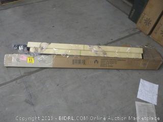 """Zinus heavy duty 7"""" low profile queen size platform bed item"""