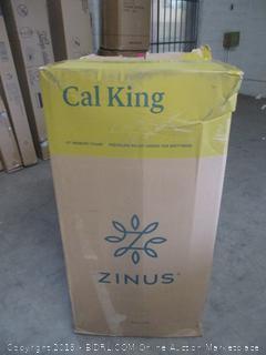 "Zinus Cal King 12"" memory foam pressure relief green tea mattress"