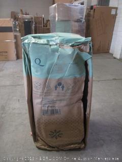 "Zinus 12"" gel-infused memory foam green tea mattress"
